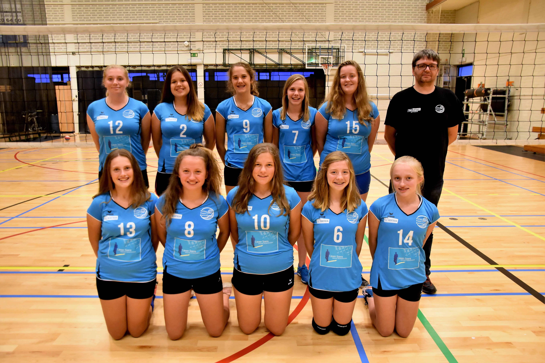 U17 meisjes regionaal VTK
