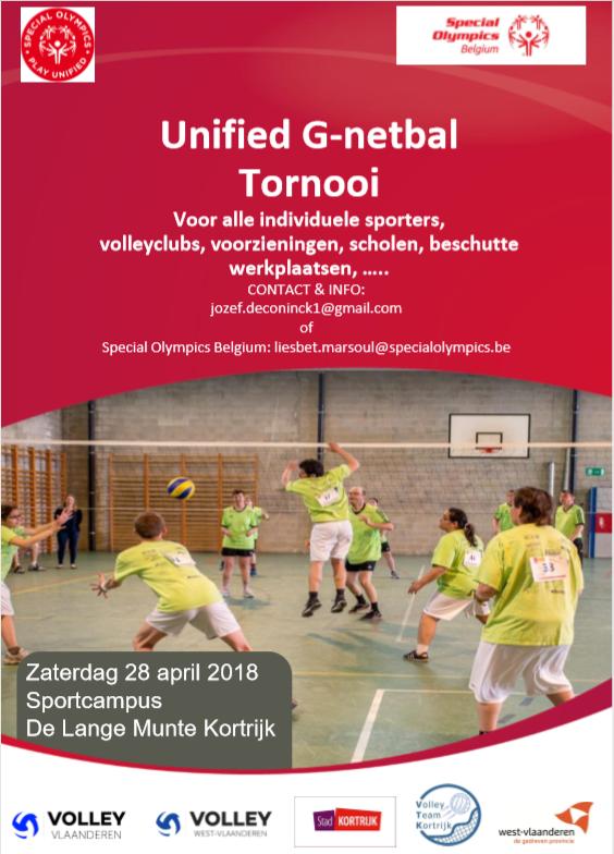 Unified G NETBAL tornooi